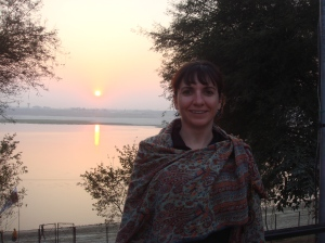 Ganges sunset